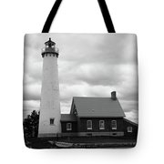 Lighthouse - Tawas Point Michigan Tote Bag
