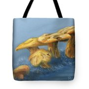 Five Little Mushrooms Tote Bag