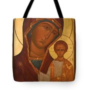 Madonna And Child Christian Art Tote Bag