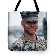 Marine. Tote Bag