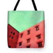 Moroccan Building Tote Bag