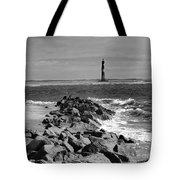 Morris Island Lighthouse Tote Bag