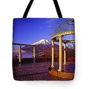 Mount Fuji In Autumn Tote Bag