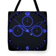 Neon Watch Face Tote Bag