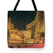 November 2017, Las Vegas Nevada - Architecture And Buildings At  Tote Bag