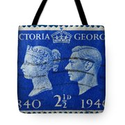 Old British Postage Stamp Tote Bag