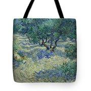 Olive Orchard Tote Bag