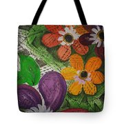 One Stroke Painting Tote Bag
