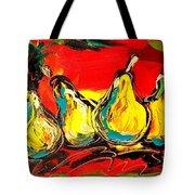 Pears Tote Bag