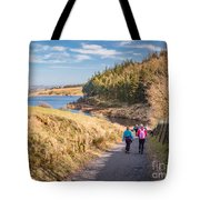 Pendle Hill Walk, North Yorkshire, Uk Tote Bag