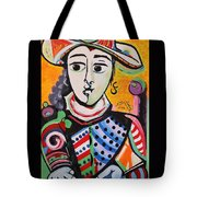 Picasso By Nora Tote Bag