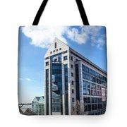 5 Point Centeral  Tote Bag