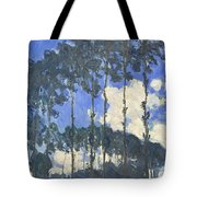 Poplars On The Epte Tote Bag