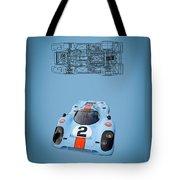 Porsche 917 Tote Bag