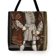 Portrait Of Henry Viii Tote Bag