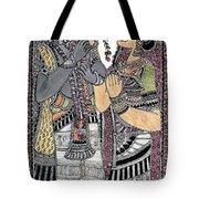 Radha Krishna Color Tote Bag