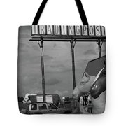 Route 66 - Mule Trading Post Tote Bag