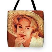 Sandra Dee, Vintage Actress Tote Bag
