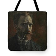 Self-portrait With Pipe Tote Bag