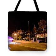 St Augustine City Street Scenes Atnight Tote Bag