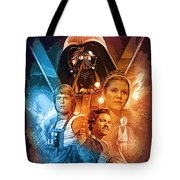 Star Wars Episode 2 Art Tote Bag