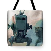 Star Wars Episode 3 Poster Tote Bag