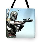 Star Wars On Poster Tote Bag