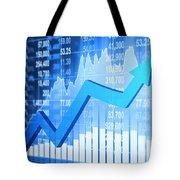 Stock Market Concept Tote Bag