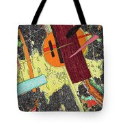 Circle And Hammer In The Space Tote Bag