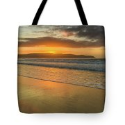 Sunrise Seascape At The Beach Tote Bag