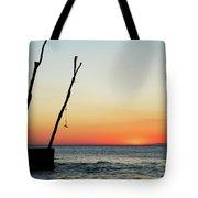 Sunset At Basanija Tote Bag