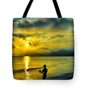 Sunshine At Puerto Cabello Tote Bag