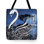 Swan Art. Tote Bag