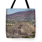 The Famous Pyramid Of The Moon Tote Bag