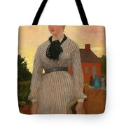 The Red School House Tote Bag