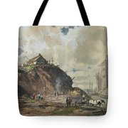The Way The City Is Built Tote Bag