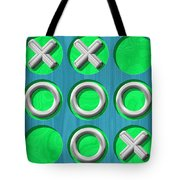 Tic Tac Toe Wooden Board Generated Seamless Texture Tote Bag