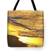 The Wave In Blue Tote Bag