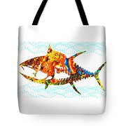 Underwater. Fish. Tote Bag