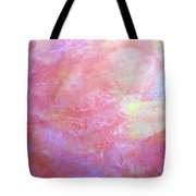 5. V1 Orange, Red And Yellow 'sun' Glaze Painting Tote Bag