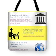 5 Valuable Reasons To Learn The English Language Tote Bag