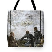 Verne: 20,000 Leagues, 1870 Tote Bag