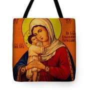 Virgin And Child Painting Religious Art Tote Bag