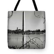 Washington Memorial In Washington Dc Tote Bag