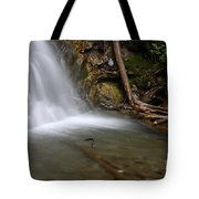 Waterfall, Quebec Tote Bag