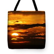 West Texas Sunset  Tote Bag