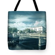 Westerly Is A Town On The Southwestern Shoreline Of Washington C Tote Bag