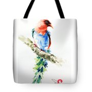 Wild Bird 5 Tote Bag