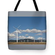 Wind Turbine Farm Tote Bag