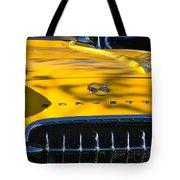 Yellow Corvette Tote Bag